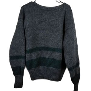 DIY Vintage XL Polo Ralph Lauren grey wool…
